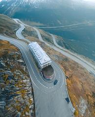 Furkapass (ThibaultPoriel) Tags: furkapass road coldelafurka suisse travel mountain dji drone aerial view djiphantom4 djiphantom4pro flying atmosphere switzerland