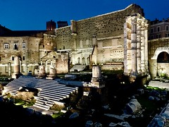 Fori Imperiali, Rome, Italy. (Massimo Virgilio - Metapolitica) Tags: architecture ancient lights night foriimperiali italy rome