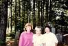 2015.165.001a - Photos of Heidi Iamoka and Irene at Japanese Cemetery. (Cumberland Museum) Tags: iamoka japanesecemetery cumberland cumberlandmuseum comoxvalley vancouverisland britishcolumbia 1991