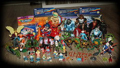 New 80's toys!! (harrycobra) Tags: madballs laserofjustice turtles thundercats smurfs zerohour sectaurs actionforce actionfigures toys vintage 80s thrift find