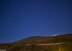 Stars above Mauna Kea (xubean) Tags: hawaii hawaiiisland photography nepaliphotographer nepali