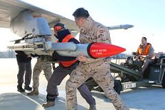 Ala 12 (Ejército del Aire Ministerio de Defensa España) Tags: ala12 misil f18 mcdonnelldouglasf18hornet armeros aim120 amraam aireaire baseaéreadetorrejón ejércitodelaire spanish air force airbase nolebusquestrespies fighter hornet
