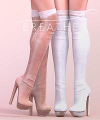 [BREATHE]-Nyoko_Heels ([Breathe]) Tags: breathe secondlife mesh heels playgirl fameshed boots maitreya slink belleza