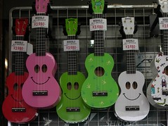 Mahalo from Shibuya (humbletree) Tags: tokyo ukulele shibuya japan ricoh grd3