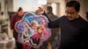 The Frozen's theme pinata (kuntheaprum) Tags: caitlin birthday nikon d750 samyang 85mm f14 baby family portrait frozen