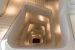 Ivory Tower (michael_hamburg69) Tags: madrid spanien spain españa espagne caixaforum stairs treppe treppenhaus staircase architekt architect herzogdemeuron auditorium museum concrete zement