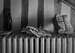 Manoir Artémis (Hélène Lili) Tags: urbex urban exploration urbaine lost places house maison manoir artémis decay old chasseur hunter fr france colors nb bw explorer doraurbex teamlili canon 100d couleur