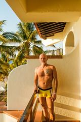 cssPVR-0070 (chucksmithphoto) Tags: buganviliasresort buganviliasvacationclub chuck jalisco mexico puertovallarta man shirtless swimsuit tropical
