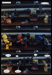 Tales from Cybertron 82 (Lazy Ass Artisan) Tags: firestar elitaone elita chromia autobots cybertron iacon kreo lego