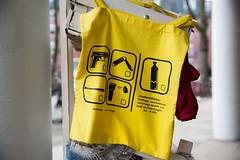 St. Pauli merchandise (Rasande Tyskar) Tags: hamburg st pauli street strase shot beutel gefahrengebiet tragetasche merchandise devotionalien tasche