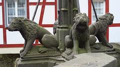Monreal (ow54) Tags: monreal sculpture steinfiguren löwen skulpturen