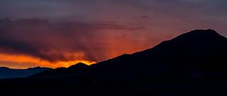 Sunrise in Death Valley, California