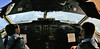 """Late August 1992 - View north-north-west from Ansett WA FOKKER F28-4000 """"Fellowship"""" twin-jet (reg. VH-FKI) cockpit during Perth-Carnarvon (via Learmonth) flight, 4,000 metres over the locality of Isseka, Western Australia, Australia (aussiejeff) Tags: canoscan8800f vhfki fellowship fokkerf284000 australia aussiejeff jeffc 90s flying aircraft aviation jet ansett wa plane passenger history"""
