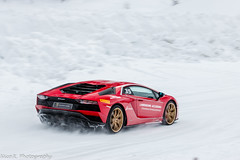 Rosso Mars LP740-4 (Nico K. Photography) Tags: lamborghini aventador s lp7404 rosso mars supercars snow drifting nicokphotography italy livigno