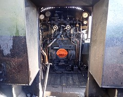 Great Central Railway Loughborough Leicestershire 15th February 2018 (loose_grip_99) Tags: great central railway railroad rail train loughborough leicestershire eastmidlands england uk steam engine locomotive lms ivatt 2mt 260 46521 tender cab footplate preservation transportation gassteam uksteam trains railways fire february 2018 alternative