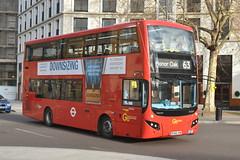 BV66 VKW (MHV30) Go-Ahead London Central (hotspur_star) Tags: londontransport londonbuses londonbus londonbuses2018 mcvvolvoevoseti tfl transportforlondon hybridbus hybridtechnology busscene2018 doubledeck goaheadlondoncentral bv66vkw mhv30 63