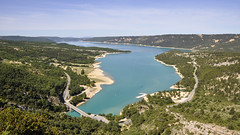 Lac de Sainte-Croix (maxguitare1) Tags: lac lago lake eau agua acqua water france nikon paysage landscape paesaggio paisaje