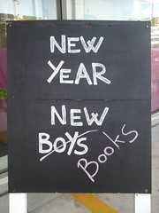 New year chalk board (Christchurch City Libraries) Tags: chalkboard centrallibrarymanchester