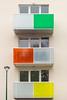 United Colors of Bloc Béton (CrËOS Photographie) Tags: architecture moderne modern couleurs colors colours vert rouge jaune minimalisme minimalism abstrait abstract fenêtres windows
