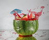 Messy Summer Vibes (Wim van Bezouw) Tags: summer splash melon water sony ilce7m2 pluto plutotrigger fruit