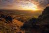 Light Behind the Rocks (sxmb) Tags: rocks boulders sunset sun sunstar clouds dogwood2018 dogwood52 dogwood52week1