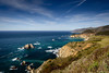 California Coast (nhblevins) Tags: california bixbybridge ocean cliffs bigsur sky hills coast beach