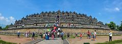 ... Borobudur ... (wolli s) Tags: borobudur indonesia java magelang panorama temple jawatengah indonesien id explore explored