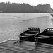 Wooden Boats in the Rain