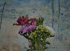 00107 (alankaplan2) Tags: flowers painting vase colors