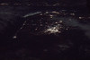 North and South Korea and their Border, at Night 2 (sjrankin) Tags: 10january2018 edited nasa citylights korea southkorea northkorea rok dprk koreanpeninsula iss iss053 seoul iss053e303566