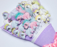 11 piece plush unicorn bouquet (mywowstuff) Tags: gifts gadgets cool family friends funny shopping men women kids home