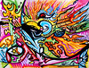 MoonBurst (MattCrux) Tags: psychedelic lsdtrip acid abstract trippy colorful rainbow lsd strange weird drug drugs weed high trip love acrylic painting acrylicpainting traditional canvas paint painted artist drawing illustration art arts expressive different beautiful artsy creativity creative moon sun
