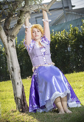 _MG_5161 (Mauro Petrolati) Tags: gumiku cosplay cosplayer romics 2017 rapunzel disney