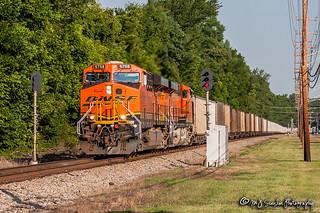 BNSF 5758 | GE ES44AC | NS Memphis District