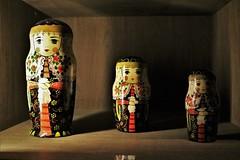 Matryoshka dolls from Russian Immigrants (Fernando Chesso) Tags: matryoshka sãopaulo museu brasil brazil immigration newworld meuseudaimigração