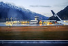 Passing the terminal (A. Wee) Tags: newzealand queenstown airport zqn 新西兰 纽西兰 皇后镇 机场 airnewzealand airnz 新西兰航空