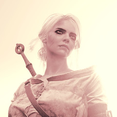 Determined (Stachmo) Tags: determined the witcher 3 wild hunt ciri portrait reshade video game gaming screenshot digital art character