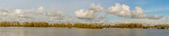 Floodplain panorama (stevefge) Tags: 2017 deest hoogwater uiterwaden waal flood winter nederland netherlands nl nature natuur water wet panorama landscape reflectyourworld