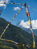 Framed Fishtail (nexotal) Tags: machapuchare machhapuchchhre machhapuchhre nepal prayer flags buddhist mountain annapurna