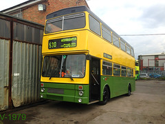 Fresh from re-paint (Vinyl 1979) Tags: mcw mcwmetrobus 2989 e989vuk wmt westmidlandstravel