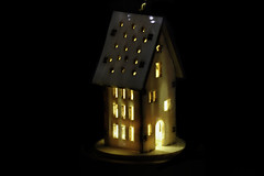 The Little House Of Light (OgniP) Tags: house light macro illumination
