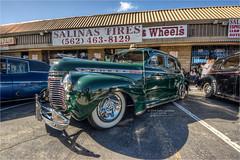 1940 chevy special deluxe (pixel fixel) Tags: 1940 chevrolet fundraiser green jorene salinastires specialdeluxe tweakedpixels whittierblvd ©2018kathygonzalez