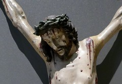 Crucified Christ, c.1650, Spain or the Phillipines (jacquemart) Tags: thevictoriaandalbertmuseum london crucifiedchrist c1650 spainorthephillipines