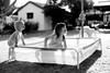 Kids in the pool (SavageToe) Tags: family black white bnw canon 5d mmk mk3