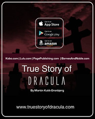 Dracula | It is written as if Dracula had existed (True Story of Dracula) Tags: dracula truestoryofdracula draculaauthor author martin kukkgronbjerg kukk gronbjerg draculahorrorvampiresbesthorrorbestdraculatruestory horror best story truestoryofdraculacom female vampire sex movie remake monster count vlad gothic novel bram stokers impaler mysterious voivode dracul vladiii tepes helen chandler ville evil eye ordog pokol stregoika vrolok vlkoslag nosferatu blood prototypical archetypal scary castle romania transylvania sighisoara history fictional classic ebook hardcover transformed taste