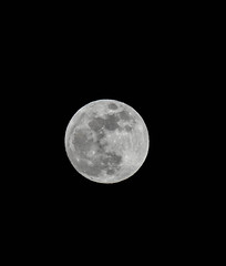 super moon - night before eclipse (Wayne~Chadwick) Tags: