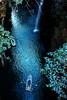 Mana Waterfall (kazs2307) Tags: waterfall water canyon blue 滝 高千穂峡 真名の滝 青 渓谷