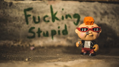 Look at me! I'm cool! (3rd-Rate Photography) Tags: newwavedave garbagepailkids funko vinyl toy toyphotography canon 50mm 5dmarkiii jacksonville florida earlware 365