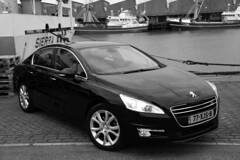 Peugeot 508-11 (gabrielgs) Tags: peugeot 508 peugeot508 car drive photography photoshoot vehicle luxurious 2012 auto scheveningen fotoshoot carshoot black francecar frenchcar france fifthgear carspotting