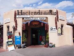 Hacienda del Rio (procrast8) Tags: albuquerque nm new mexico old town hacienda rio restaurant bar